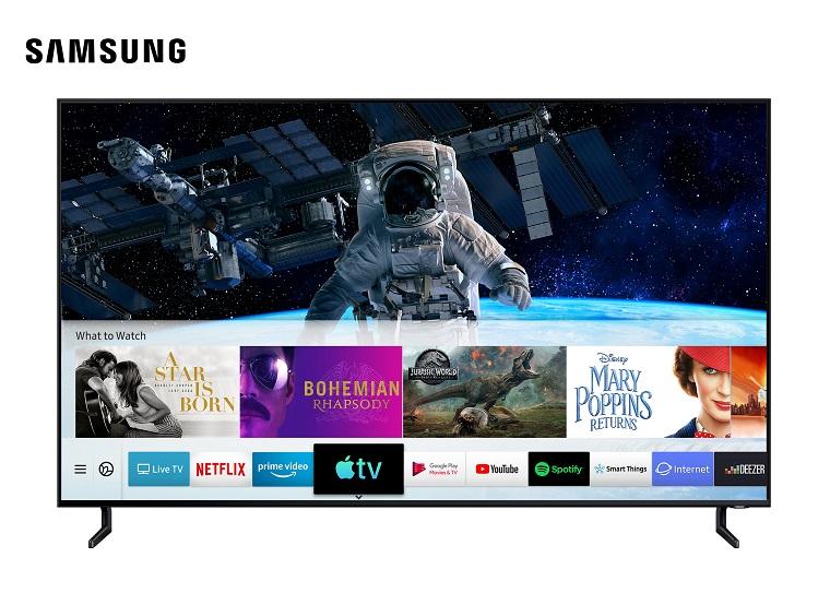 Samsung, Apple TV Uygulamasını ve AirPlay 2 Özelliğini Sunan İlk TV Üreticisi Oldu Samsung Haberleri Teknoloji Haberleri Televizyon Haberleri